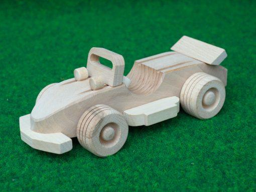 Cabrio Sportwagen aus Holz