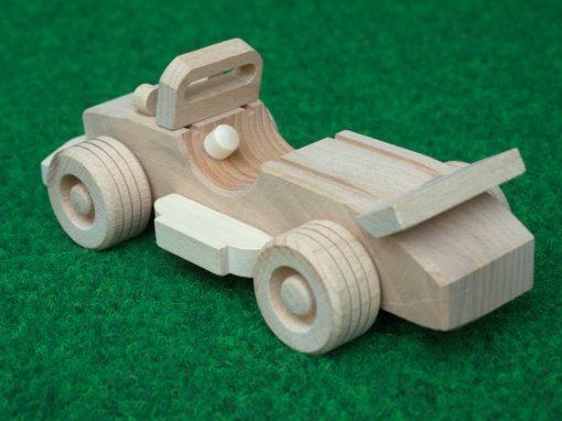 Cabrio Sportwagen aus Holz - nachhaltig spielen