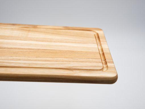 Design Jausenbrett aus Esche rechteckig