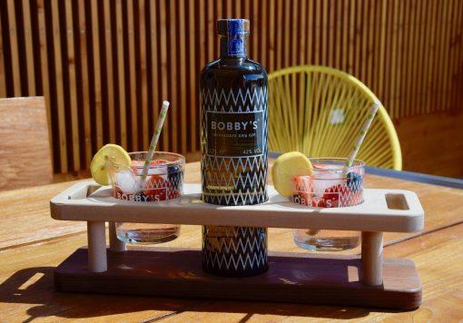 Bobby´s Gin Set aus Holz