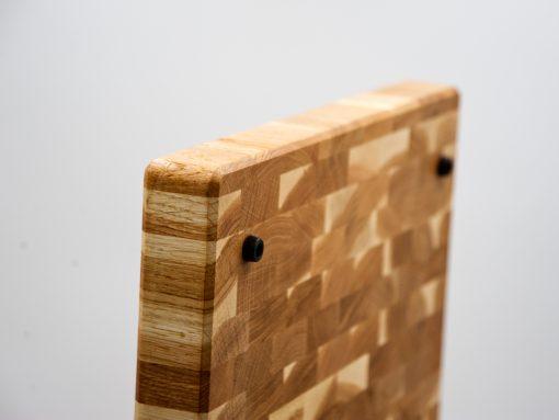Hackbrett aus Eiche aus Hirnholz