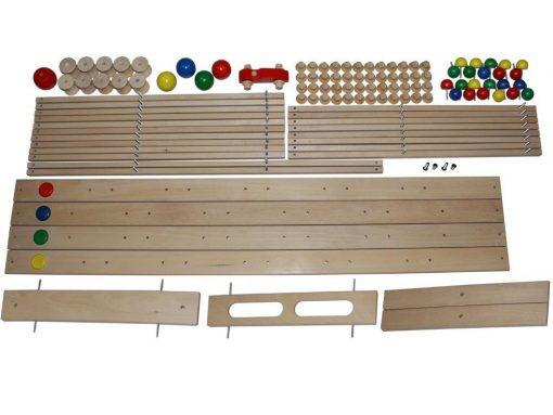 Holzkugelbahn Bausatz von DREWA erhältlich bei Holz und Handwerk