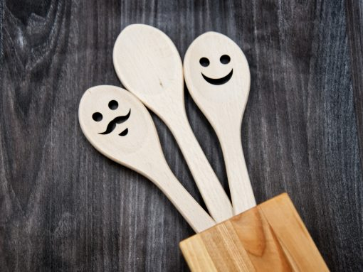 JOWE Kochlöffel Set aus Holz