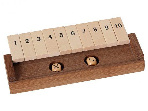 Klappenspiel aus Holz