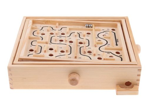 Labyrinth aus Holz - Geschicklichkeitsspiel