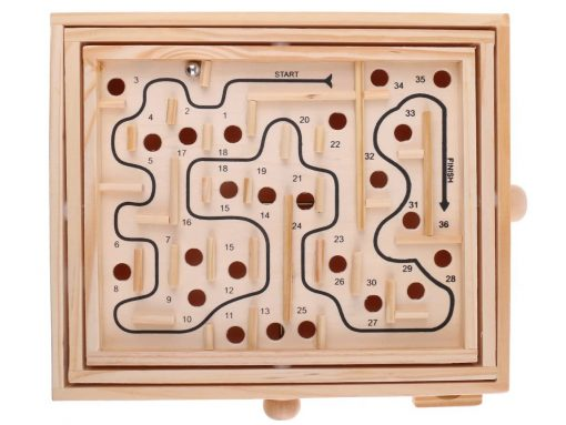 Labyrinth aus Holz - Spielzeug aus Holz