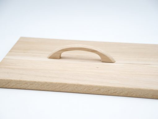 Möbelgriff aus Holz für Fronten und Laden - Eiche unbehandelt