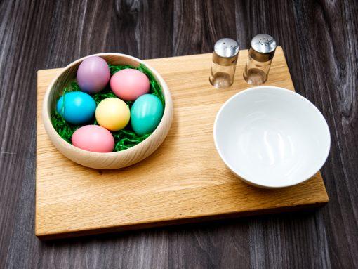 Ostergedeck aus Holz