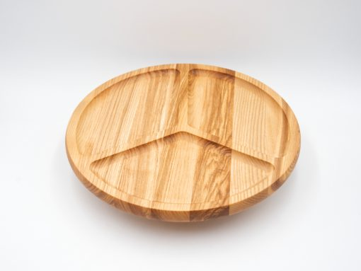 Servierplatte aus Holz Esche