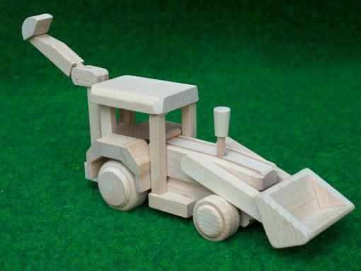Bagger aus Holz
