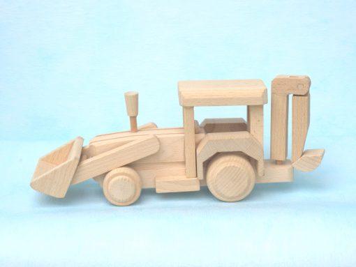 Bagger aus Holz - nachhaltiges Spielzeug