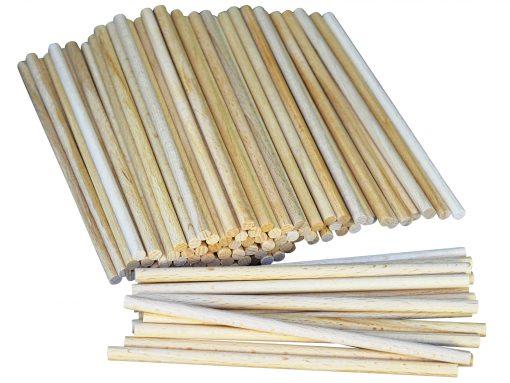 Bastelstäbchen aus Holz gefertigt aus heimischem Buchenholz