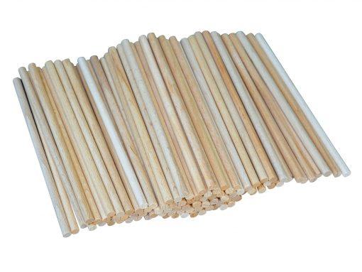 Bastelstäbchen aus Holz - nachhaltige Holzprodukte