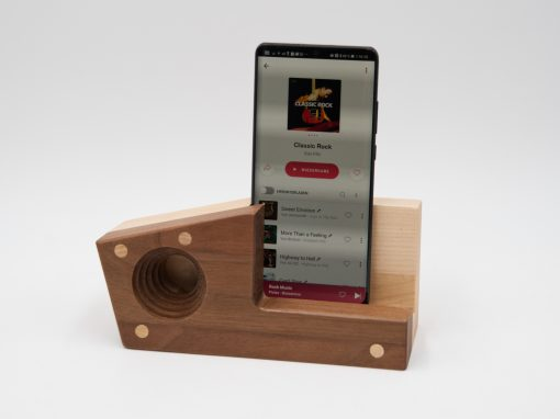 Echophon aus Holz