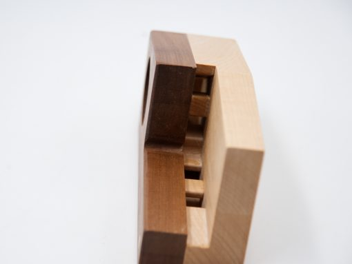 Echophon aus Holz - ein Lautsprecher ohne Strom