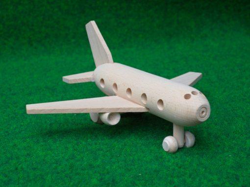 Flugzeug aus Holz - nachhaltiges Spielzeug