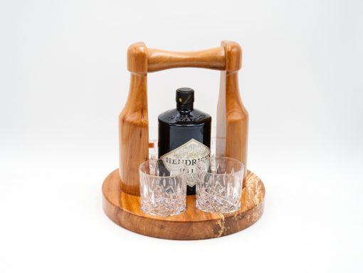 gin set aus zwetschke