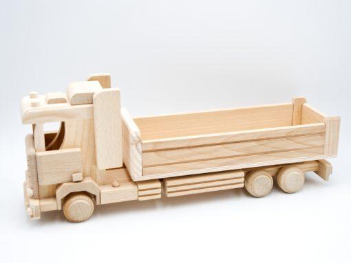 Großer Lastwagen aus Holz - nachhaltiges Spielzeug