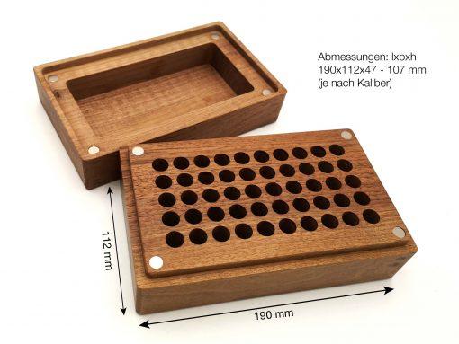 munitionsbox aus holz - abmessungen