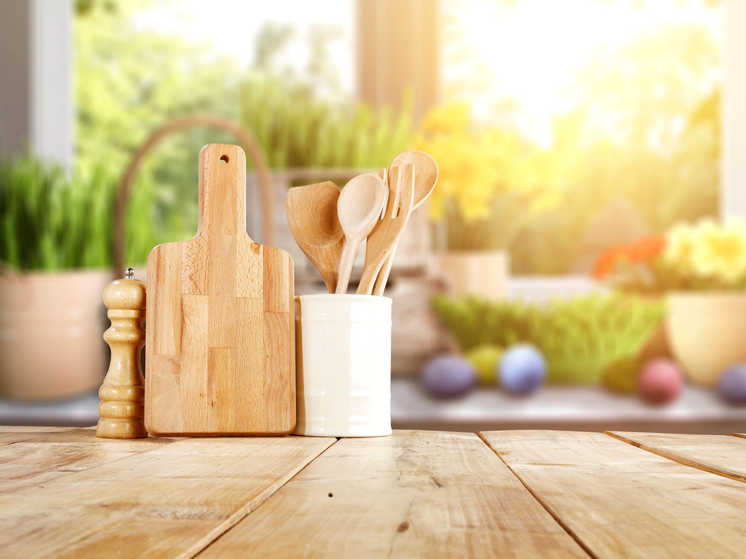 Nachhaltig Kochen mit Holzprodukten
