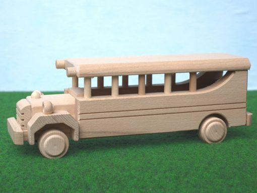 Schulbus aus Holz - nachhaltiges Spielzeug