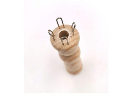 Strickliesel aus Holz-gefertigt aus heimischem Buchenholz
