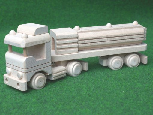 Tankwagen aus Holz