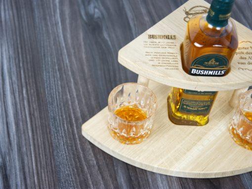 whiskey geschenkset aus holz - geschenke